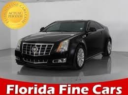 used 2012 cadillac cts coupe used cadillac cts coupe for sale in palm fl 24 used