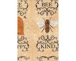 bienen sprüche 60 cm rapport patchworkstoff bee creative bienen sprüche