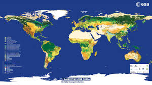 Us Map With Names Space In Images 2014 10 Land Cover 2010