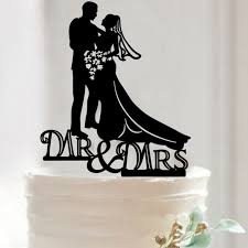 wedding cake top acrylic just married wedding cake topper wedding cake