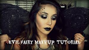 easy evil fairy halloween makeup youtube