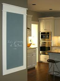 chalkboard in kitchen ideas create a family message center hgtv