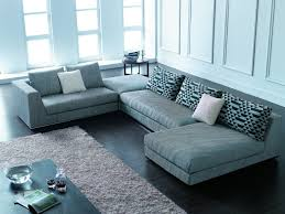 Large Cushions For Sofa Furniture Beige Ethan Allen Sectional Sofas With Decorative