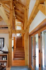 custom timber frame home benjamin u0026 co maine