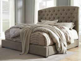 White Tufted Headboard And Footboard Bedroom Bed Frames Tufted King Set Upholstered Headboard And
