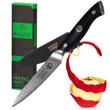 amazon com paring knife 4 inch professional damascus peeling