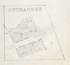 Underground Railroad Map Ohio Delaware Scioto Ostrander History Genealogy Maps