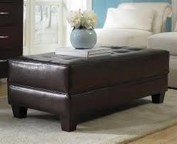 Coffee Table Ottomans With Storage by Large Square Storage Ottoman Oversized Coffee Table For The Large