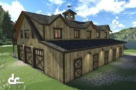 Barn Building Plans Wonderful House Barn Plans Floor Bacuku