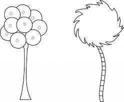 truffula tree coloring page truffula tree coloring page coloring