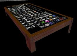 Periodic Table Coffee Table Second Marketplace Periodic Coffee Table Of The Elements