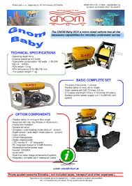 gnom rov baby buy remotely underwater survey product on alibaba com