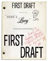 Personally by Lot Detail Lucille Ball Personally Owned Script From Her 1968