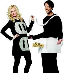 plug and socket costume humorous funny couples light weight