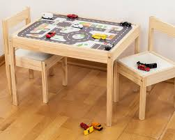 Play Table For Kids Playroom Decals Furniture Sticker Small City For