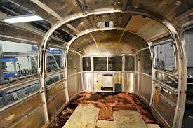 77 airstream sovereign vintage trailer restoration including