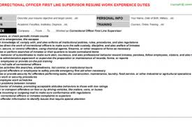 Corrections Officer Resume Correctional Officer Resume Inspirenow Sample Correctional State