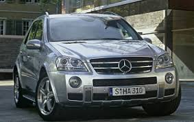 2007 mercedes suv 2007 mercedes m class suv ml320 cdi what s it worth