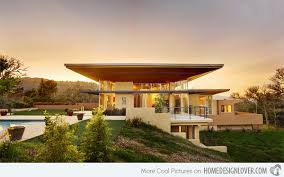 Modern Hill House Designs Home Plans For An Upslope Lot Modern Residential Design Search