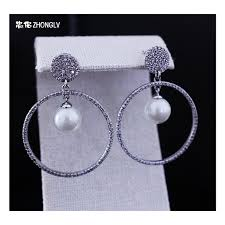 ear pins 925 sterling silver earpins earring zhonglv 2017
