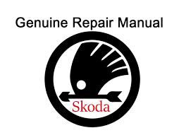 skoda superb 2008 2016 factory repair manual