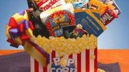 How To Make Gift Baskets How To Make A Popcorn Gift Basket By Olivia Ifood Tv