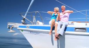old couple on boat blank template imgflip