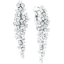 Chandelier Earrings India Chandelier Earrings White Gold Chandelier Earrings By