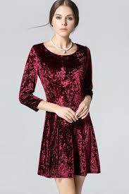ideas of velvet short dresses for women u2013 designers collection