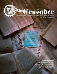 the crusader ay starter magazine 2016 by the crusader publication