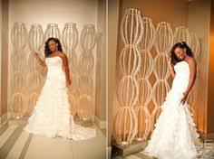 stephanie okereke with her bridemaids wearing all white