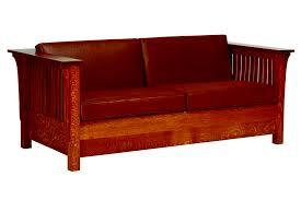 made in usa sofa mission sofa bed burress amish furniture