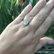 heart shaped engagement ring 3 47ct antique heart shaped diamond f si2 jewels by grace
