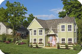 victorian cottage house plans children u0027s playhouse plans
