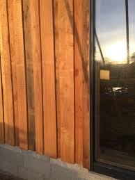 bardage bois claire voie alternative au bac acier u003e couverture bois
