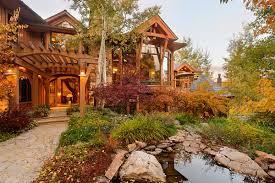 log cabin luxury homes alpine 4 acre estate alpine property