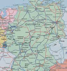 5 Train Map Download Rail Map Germany Major Tourist Attractions Maps