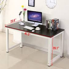Wood Office Furniture by Amazon Com Office More Computer Desk Wood Pc Laptop Table