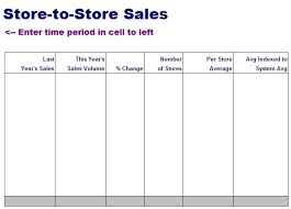 Sales Sheet Template List Templates Free Layout Format