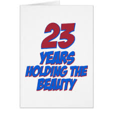 23 years old stuff birthday cards u0026 invitations zazzle co nz