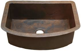 professional home supply copper undermount and apron kitchen and
