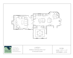 kitchen family room floor plans transforming a 1980 s home tuscan blue design