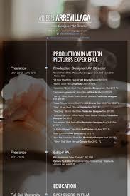 Art Director Resume Examples by Art Director Cv örneği Visualcv özgeçmiş örnekleri Veritabanı