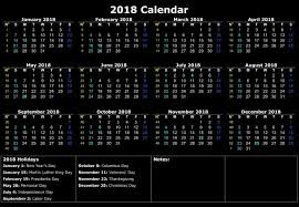 united states holiday calendar 2018 archives printable office