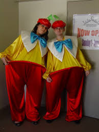 Tweedle Dee Tweedle Dum Halloween Costumes Totally Frocked Costume Hire Characters Couples Groups