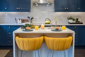blue kitchen cabinets toronto the property brothers convert a 1930s toronto home into a