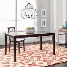 simple living havana carson large dining table free shipping