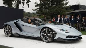 lamborghini silver lamborghini centenario roadster shown for the first time in monterey