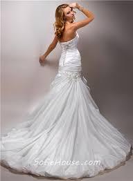 hem wedding dress a line strapless ruched taffeta tulle wedding dress with flowers