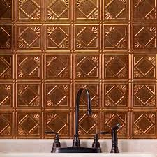 Decorative Thermoplastic Panels Fasade 24 In X 18 In Traditional 4 Pvc Decorative Backsplash